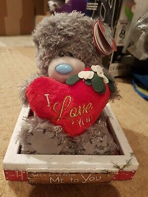 Me To You Toy Teddy I Love You New 13cm High • 2.20£