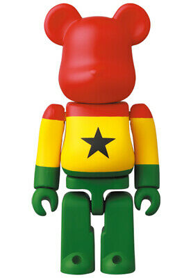 $9.86 • Buy Bearbrick BE@RBRICK Series 41 - Flag Ghana 100% - Assortment Rate 5.2%