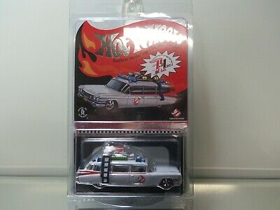 2011 Hot Wheels LE RLC Ghostbusters Ecto-1 #0763/6530 - MOC - 1/64 Scale • 51.37£