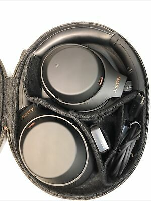 AU304.35 • Buy Sony WH-1000XM4 Over The Ear Noise Cancelling Wireless Headphones - Unused! New!