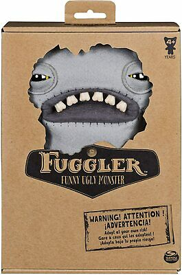 $ CDN17.75 • Buy FUGGLER FUNNY UGLY MONSTER Spin Master DOLL STUFFED PLUSH Gray WIDE EYED WEIRDO