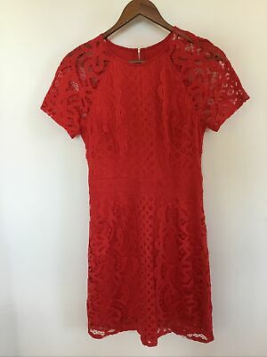 AU25 • Buy Forever New Lace Dress Size 8