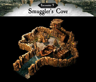 $ CDN696.24 • Buy Dwarven Forge - THE COMPLETE CAVERNS DEEP SMUGGLER'S COVE ENCOUNTER (NEW & HTF!)