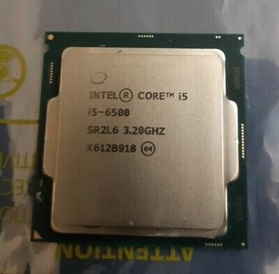 Intel® Core™ I5-6500 3.2GHz Quad-Core CPU 6th Gen Processor • 28£
