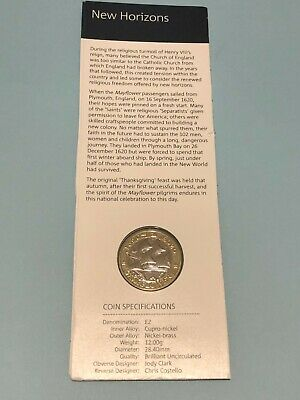 £7.99 • Buy 2020 £2 Two Pound Coin The Mayflower Uncirculated UK BUNC