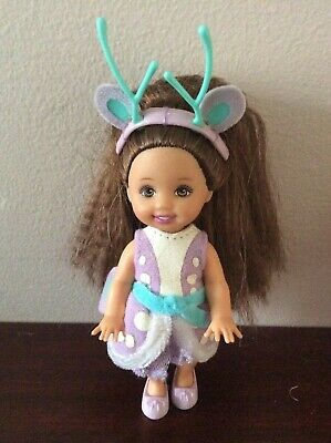 Barbie Doll Baby Sister Kelly Shelly Fawn Swan Lake Clothes Dress Fashion Outfit • 15£