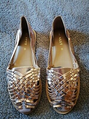 Next Sandles Rose Gold Size 7 Brand New With Tags • 8£