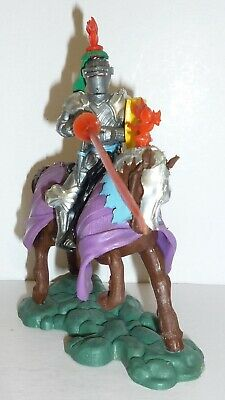 Vintage Britains Mounted Lancastrian Swoppet Knight Attacking With Lance No 1452 • 21£