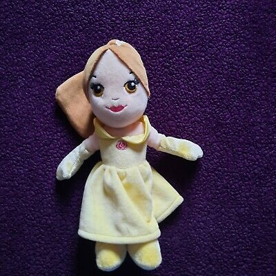 Disney Princess Belle Soft Plush Toy Doll Beauty And The Beast • 1.30£