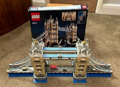 Lego Creator Expert 10214 London Tower Bridge Very Rare Retired 100% Complete • 190£