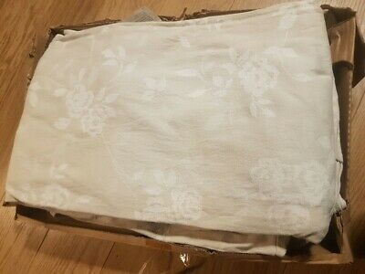 Ikea Cover For Ektorp 2 Seat Sofa In Redeby Light Beige, Floral 501.121.80 • 50£