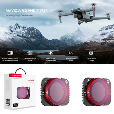 AU38.32 • Buy PGYTECH 4 In 1 ND Adjustable VND Camera Lens Filter For DJI Mavic Air 2 Drone