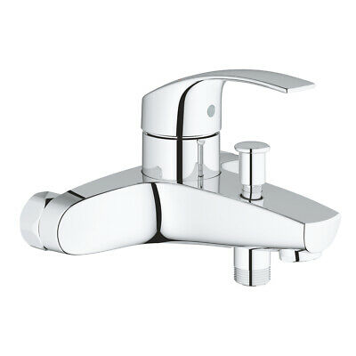 Grohe 33304002 Eurosmart Single-lever Bath / Shower Wall Mounted Mixer 1/2″ NEW • 69.67£