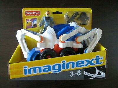 Imaginext Space Spider With Figure Laser Gun Torso Armour BRAND NEW BOXED • 36.85£