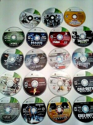 Lot Of 50 Game Discs Untested Repair/Resurface Xbox & XBOX 360 Games • 108.75£
