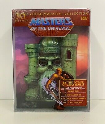 $179.99 • Buy 30th Anniversary Commemorative Collection: Masters Of The Universe DVD SET! OOP!