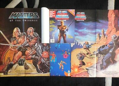 $7.50 • Buy He Man And The Masters Of The Universe Magazine Summer 1987 & Extra Posters