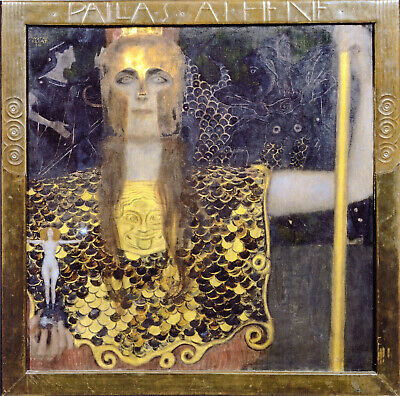 $ CDN100.24 • Buy Gustav Klimt - Minerva Or Pallas Athena (1898) Signed - 17  X 22  Fine Art Print