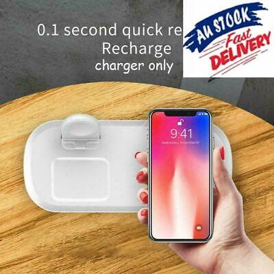 AU22.41 • Buy 3 In 1 Wireless Charging Station Charger Dock Pad For IPhone12 X3R7 Pods A5H3