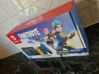 AU36 • Buy Nintendo Switch Fortnite Special Edition Console BOX ONLY