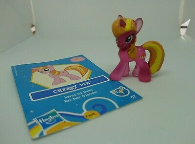 Cherry Pie My Little Pony G4 Blind Bag Wave 7 Transparent W/ Collector Card 2013 • 0.99£