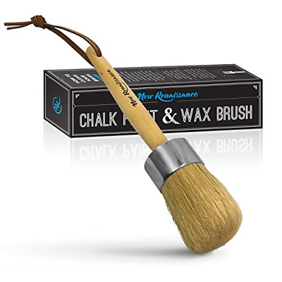Renaissance Professional Chalk Paint Wax Brush Painting Or Waxing With Natural • 18.50£