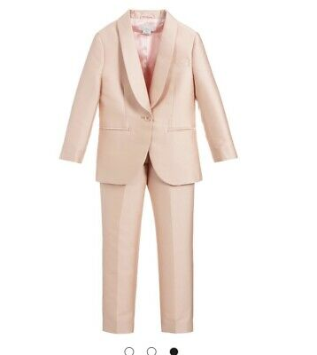 Stella Mccartney Pink Girls Suit Trousers And Jacket 14 Years RRP £262 • 125£