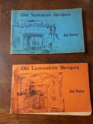 1st Ed Old Yorkshire & Lancashire Recipes By Poulson, Joan Paperback Book  • 5£
