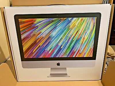 Apple IMac 21.5  **BOX ONLY**including All Packaging & Outer Brown Box  • 19.99£