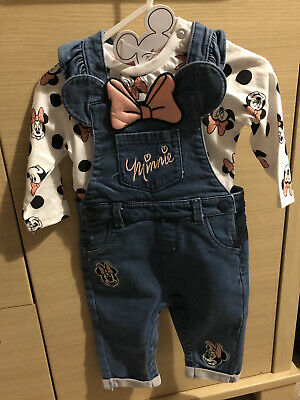 Primark Minnie Mouse Outfit 3-6 Months Brand New • 3£