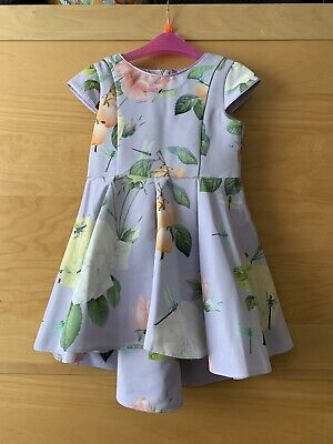 Ted Baker Girls Distinguished Rose High Low Dress 2-3 Years Worn Once  • 22£