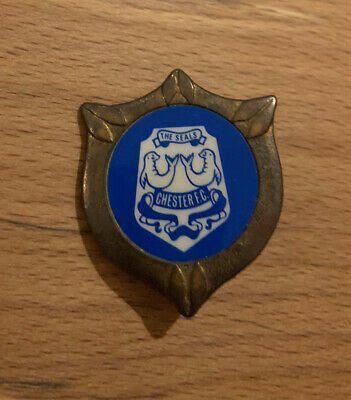 £19.99 • Buy CHESTER FC - VINTAGE PLASTIC INSERT - 70's COFFER CREST BADGE/PIN OLD RETRO SEAL