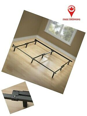 $ CDN70.84 • Buy Bed Support Frame In Queen Size With 9 Durable Legs For Box Spring Mattress