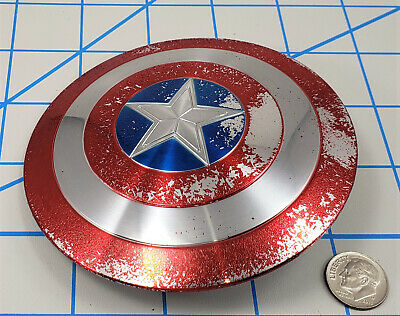 $ CDN4.08 • Buy Hot Toys Captain America Shield 1/6 Scale Paint Is Flaking Badly Used