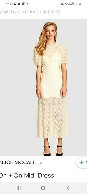 AU80 • Buy Alice Mccall On And On Midi Dress, Size 14