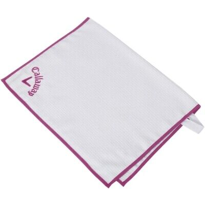 £10.62 • Buy NEW Callaway Golf Players Towel White / Pink 20  X 30