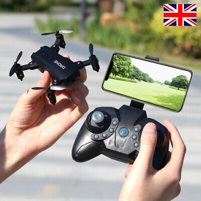 Mini RC Drone With 4K HD Camera Wifi FPV Selfie RC Quadcopter Altitude UK • 21.79£