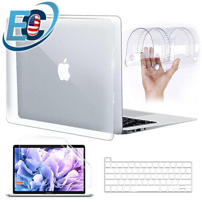 $14.99 • Buy Crystal Clear Hard Case Keyboard Cover For 2020 MacBook Air Pro 13 M1 A2337 2338