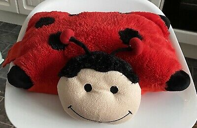 Convertible Ladybird Soft Pillow Toy From DSL 30cm X 32ccm • 2£