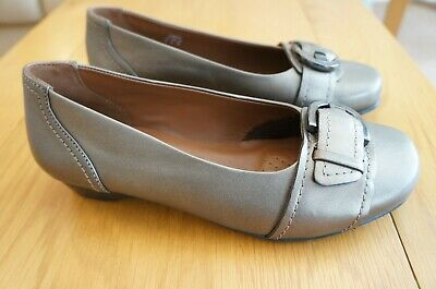 HOTTER   Darcy  Size 4 (EU37) Leather Comfort Shoes • 9.50£