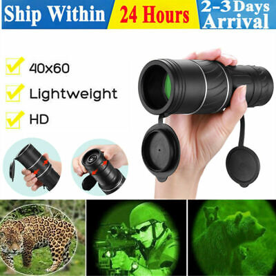 £7.99 • Buy Mini Day/Night Vision Telescope 30 X 60 Zoom Compact Binoculars & Carrying Pouch