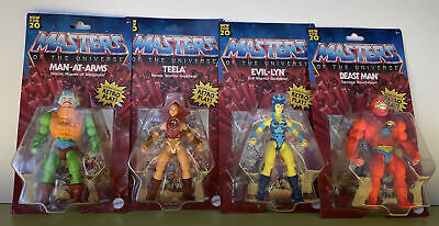 $69.99 • Buy MASTERS OF THE UNIVERSE ORIGINS WAVE 1 (4 FIGURE SET) RETRO LOT Walmart
