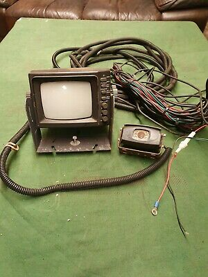 Old Original Vintage Fire Engine Camera. Fittings. Cables.Rear View. Truck.  • 15£