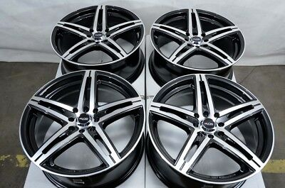 $469 • Buy 15  Wheels Acura CL Integra Legend Honda Accord Civic Jetta 4 Lug Black Rims