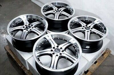 $649 • Buy 18  Wheels Rims Black Fit Legend Accord Civic Hyundai Elantra Sonata Tiburon (4)