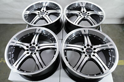 $474 • Buy 18 Black Wheels Fits Honda Accord Civic Prelude Element Insight Crosstour Rims