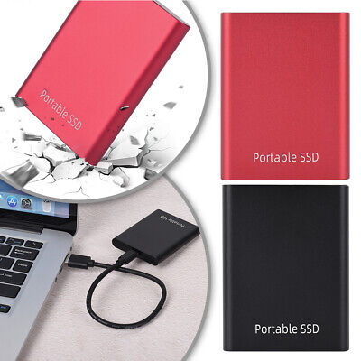 USB 3.0 External Solid State Drive SSD Portable Mobile 500GB 1TB 2TB Hard Drives • 40.24£