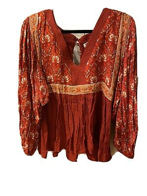 AU75 • Buy Spell & The Gypsy Jewel Smock Blouse XS Preloved.
