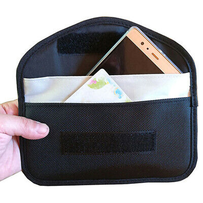 Signal Blocking Bag Anti-Radiation Signal Shielding Pouch Wallet Case For 6 AT1P • 3.16£