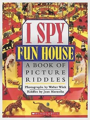 I Spy Fun House:  A Book Of Picture Riddles, Walter Wick (Photographer),Jean Mar • 6.75£
